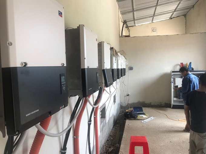 Inverter-SMA-75-kWp-trong-hệ-thống-điện-mặt-trời-700kWp-tại-Tây-Ninh
