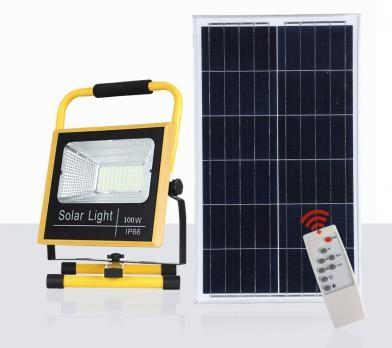 Đèn pha năng lượng mặt trời xách tay